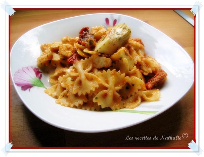 les recettes de nathalie salade de p 226 tes 224 l italienne et participation 224 un concours