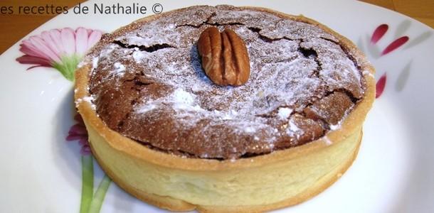 les recettes de nathalie tarte au chocolat noix de p can et sirop d rable. Black Bedroom Furniture Sets. Home Design Ideas