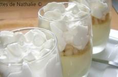 Crème de roquefort et mousse de poire au siphon