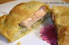 Feuilleté saumon et fenouil