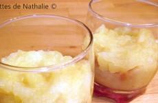 Compote de pommes au pain d'épices