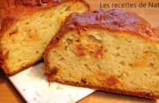 Cake au chorizo et comté