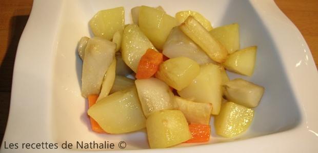 Légumes d'antan au four