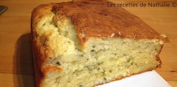 Cake au Gorgonzola, miel et romarin frais d'Alba Pezone