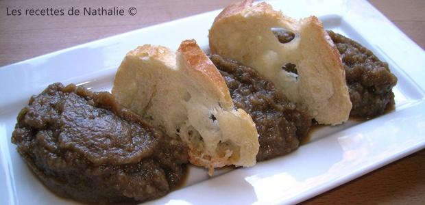 Caviar d'aubergines à la marocaine