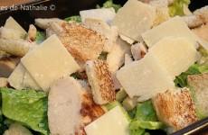Chicken Cesar Salad (Salade César)