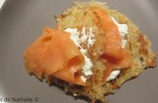 Röstis saumon fumé et aneth