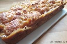 Gâteau craquant au caramel au beurre salé