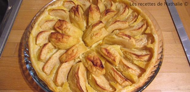 Tarte rustique aux pommes boscop