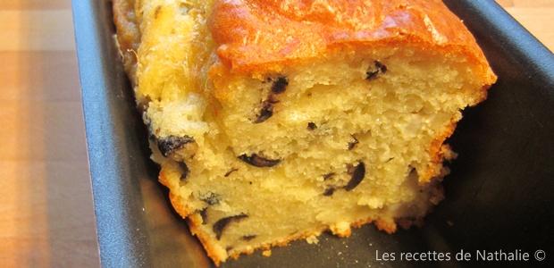 Cake aux olives et à la fêta