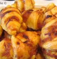 Mini-croissants apéro au pesto rosso
