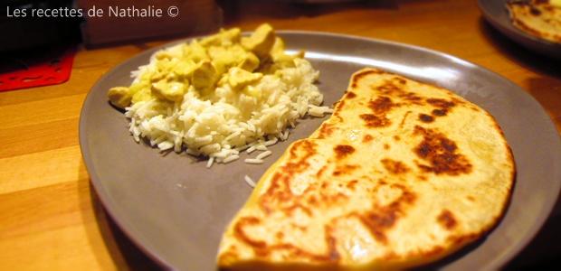 LA recette des cheese naan