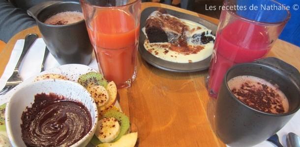 Goûter gourmand au Puerto Cacao