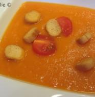 Soupe de tomates et fenouil