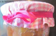 Confiture rhubarbe vanillée