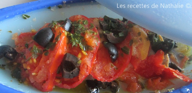 papillotes de poisson à la tomate et citron confit