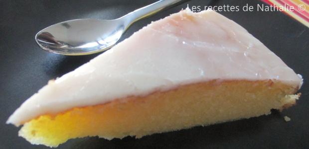 Gâteau nantais (gâteau au rhum)