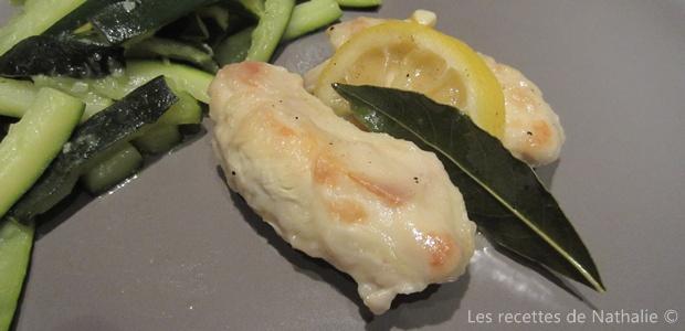 Lapin au citron et vin blanc