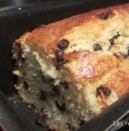 Cake ultra-moelleux ricotta et pépites de chocolat