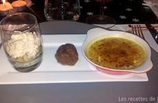 Figues pochées au Monbazillac, farcies au foie gras