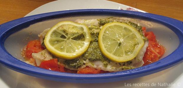 Les recettes de nathalie dorade au pesto en papillote for Dorade en papillote au barbecue