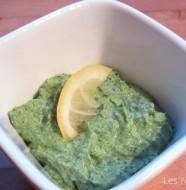 Dip au persil et crème de soja