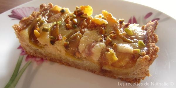 Les recettes de nathalie tarte aux mirabelles fond de tarte en p te palets bretons - Fond de tarte palet breton ...