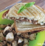 Croque-Monsieur champignons et brebis