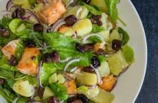 salade pommes de terre et saumon